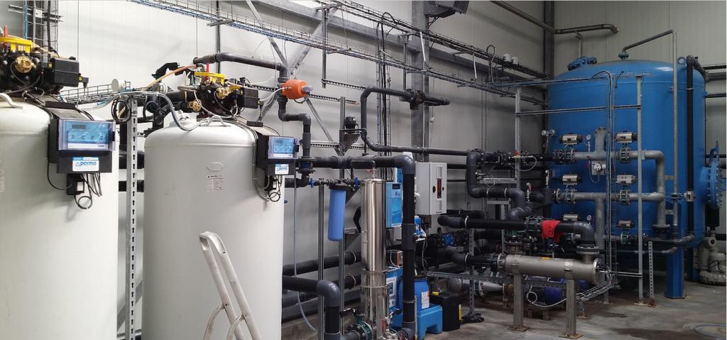 Installation ultra-moderne pour la purification de l'eau - Harnes