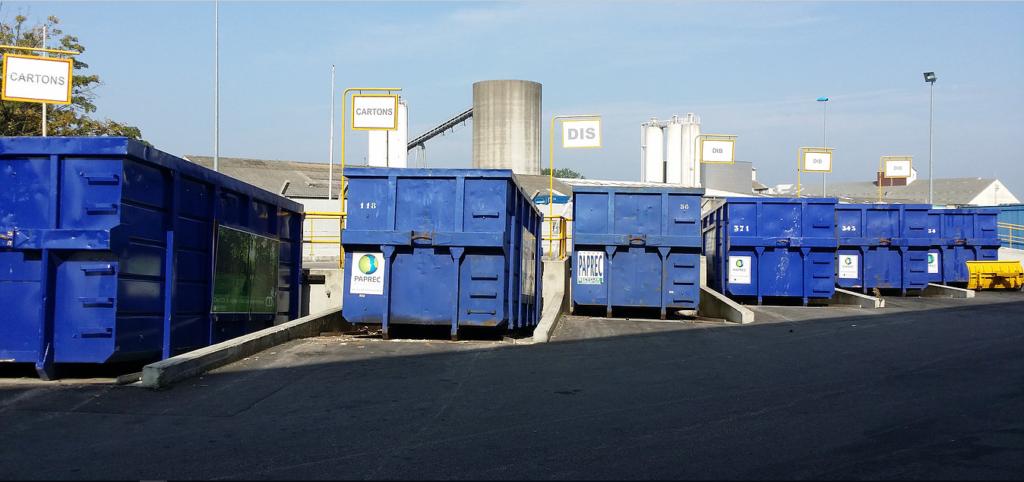 Tri des déchets - Harnes