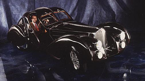 Véhicule d'époque Bugatti 57 S Atlantic 1936
